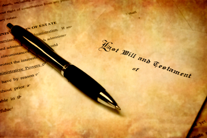 last will and testament is